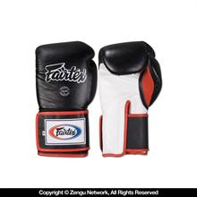 BGV5 Muay Thai Gloves - Black/White/Red